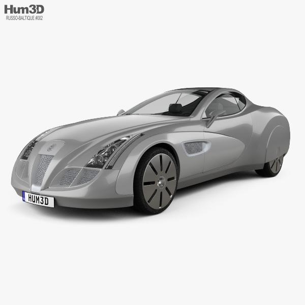 3D model of Russo-Balt Impression 2006