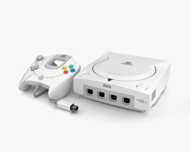3D model of SEGA Dreamcast