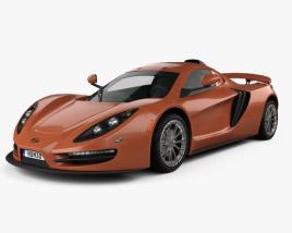 3D model of SIN CAR R1 2016
