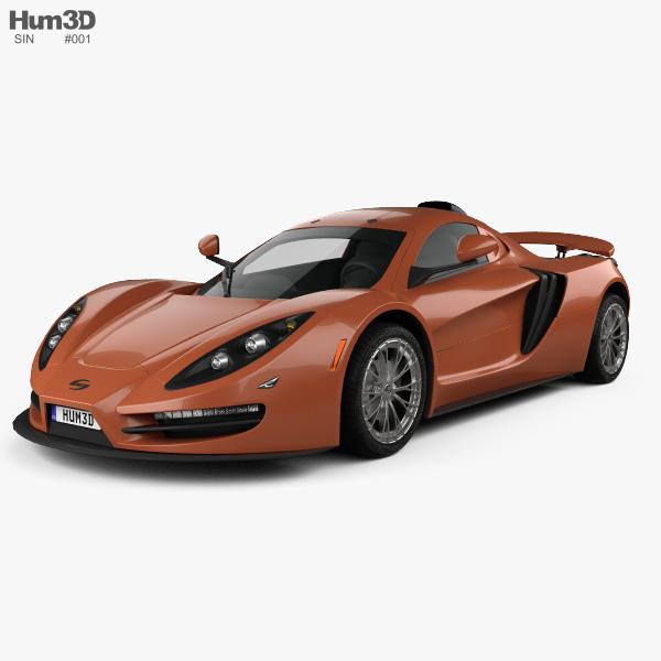 SIN CAR R1 2016 3D model
