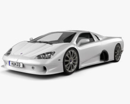 3D model of SSC Ultimate Aero 2009