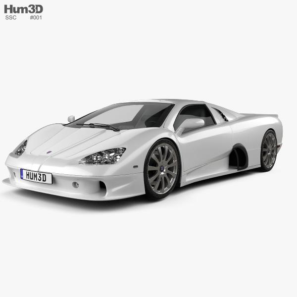 SSC Ultimate Aero 2009 3D model