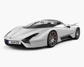 3D model of SSC Tuatara 2011