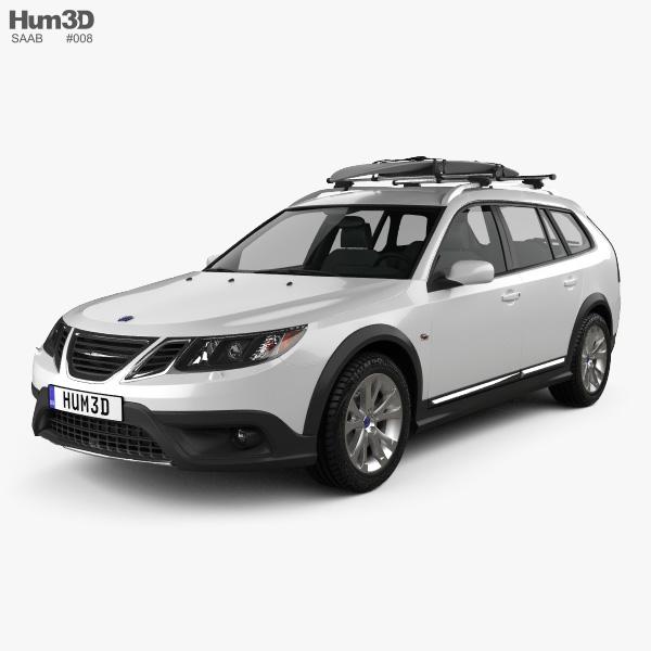 Saab 9-3 X 2009 3D model