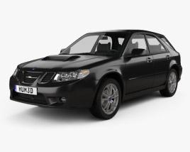3D model of Saab 9-2X 2004