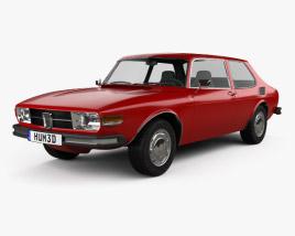 3D model of Saab 99 1972