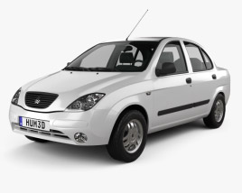 3D model of Saipa Tiba 2009