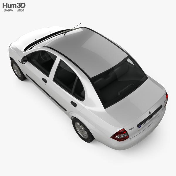 Saipa Tiba 2009 3D model