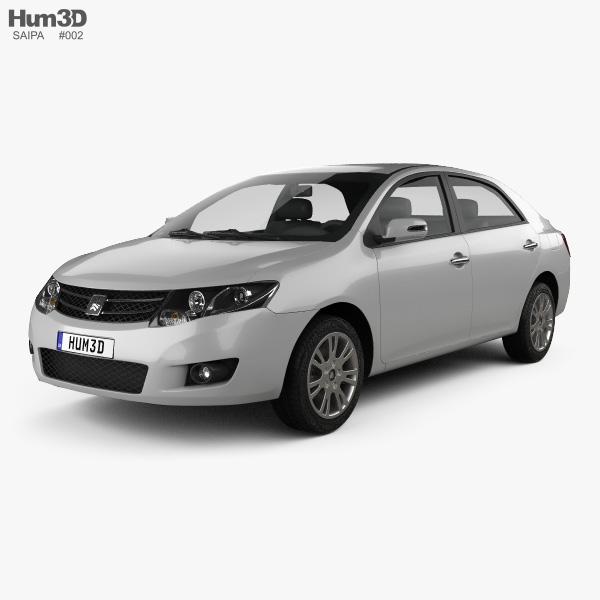 Saipa S300 2014 3D model