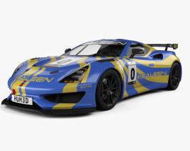3D model of Saleen GT4 2020