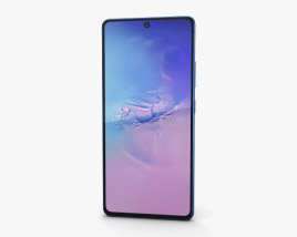3D model of Samsung Galaxy S10 Lite Prism Blue