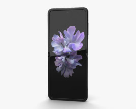 3D model of Samsung Galaxy Z Flip Mirror Black