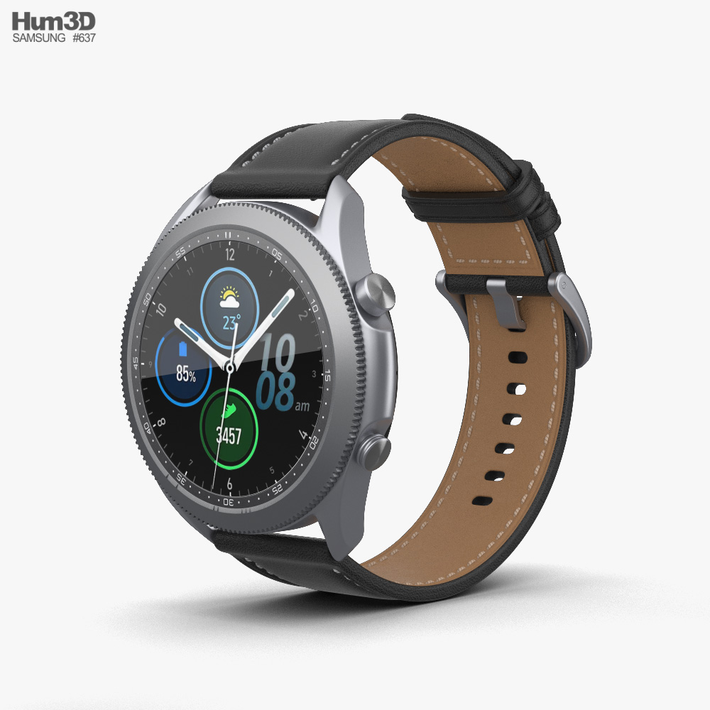 Samsung Galaxy Watch 3 3D model