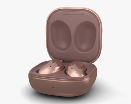 3D model of Samsung Galaxy Buds Live Mystic Bronze