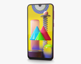 Samsung Galaxy M31 Red 3D model