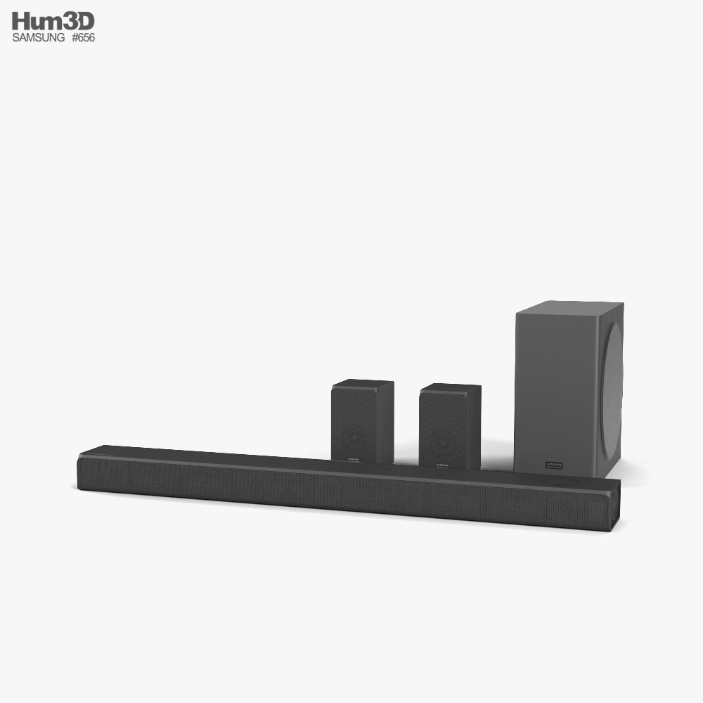 Samsung HW-Q90R Soundbar 3D model