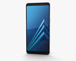 Samsung Galaxy A8 (2018) Blue 3D model