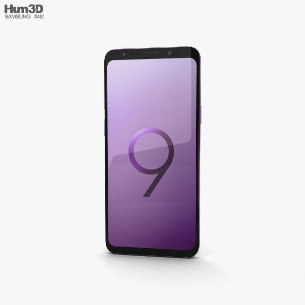 Samsung Galaxy S9 Lilac Purple 3D model