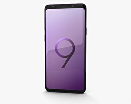 3D model of Samsung Galaxy S9 Plus Lilac Purple