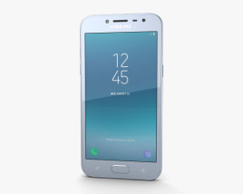 3D model of Samsung Galaxy J2 Pro Blue