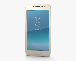 3D model of Samsung Galaxy J2 Pro Gold