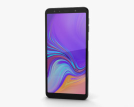 3D model of Samsung Galaxy A7 (2018) Black