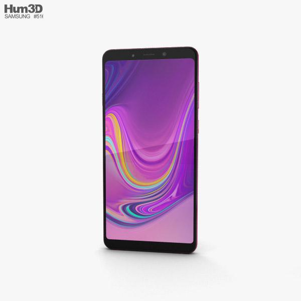 Samsung Galaxy A9 (2018) Bubblegum Pink 3D model