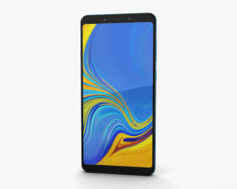 3D model of Samsung Galaxy A9 (2018) Lemonade Blue