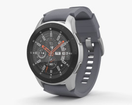 3D model of Samsung Galaxy Watch 46mm Basalt Gray