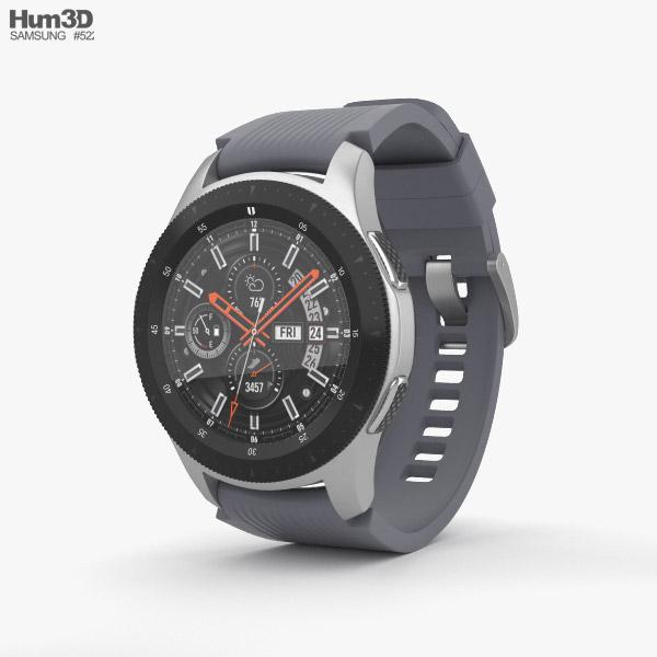 Samsung Galaxy Watch 46mm Basalt Gray 3D model