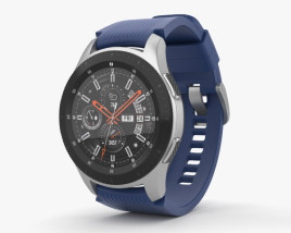 3D model of Samsung Galaxy Watch 46mm Deep Ocean Blue
