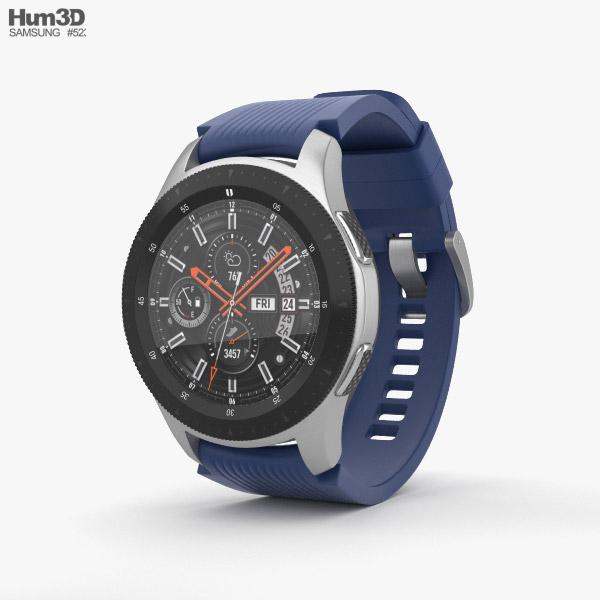 Samsung Galaxy Watch 46mm Deep Ocean Blue 3D model