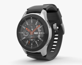 3D model of Samsung Galaxy Watch 46mm Onyx Black