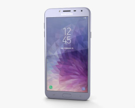 3D model of Samsung Galaxy J4 Orchid Gray
