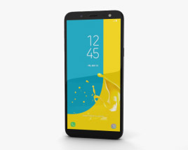 3D model of Samsung Galaxy J6 Black