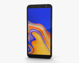 3D model of Samsung Galaxy J6 Plus Black
