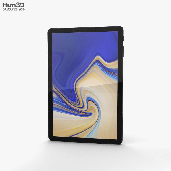 Samsung Galaxy Tab S4 10.5-inch Black 3D model