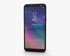 Samsung Galaxy A6 Black 3D model