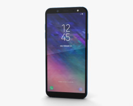 Samsung Galaxy A6 Blue 3D model