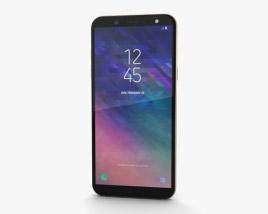 Samsung Galaxy A6 Gold 3Dモデル