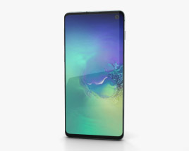 3D model of Samsung Galaxy S10 Green