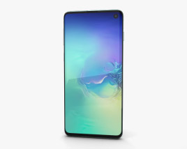 3D model of Samsung Galaxy S10 Prism Green