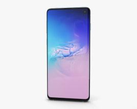 3D model of Samsung Galaxy S10 Prism Blue