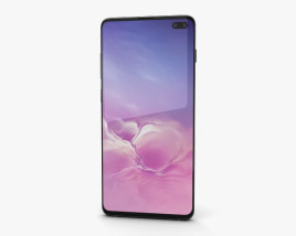 3D model of Samsung Galaxy S10 Plus Ceramic Black