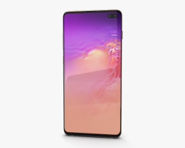Samsung Galaxy S10 Plus Flamingo Pink 3D model