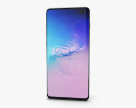 3D model of Samsung Galaxy S10 Plus Prism Blue
