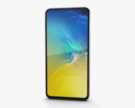 3D model of Samsung Galaxy S10e Canary Yellow