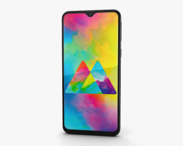 Samsung Galaxy M20 Charcoal Black 3D model