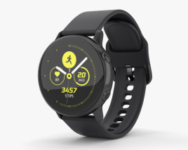 3D model of Samsung Galaxy Watch Active Black