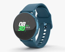 3D model of Samsung Galaxy Watch Active Green